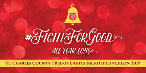 Salvation Army St. Charles County Tree of Lights Kickoff Luncheon 2019