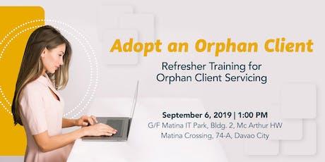 Adopt an Orphan Client tickets