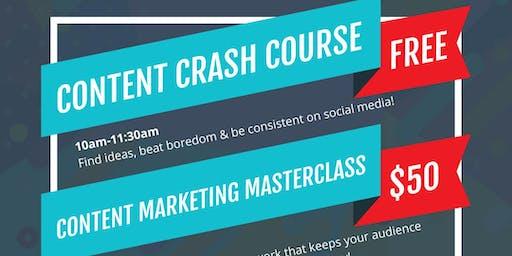 Content Marketing Crash Course + Masterclass