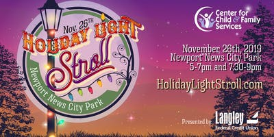 Holiday Light Stroll Presented Langley Federal Credit Union