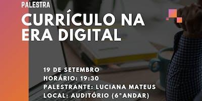 Currículo na era digital