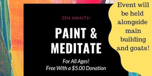 Paint & Meditate-All Ages