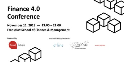 Finance 4.0 Conference: Cryptocurrency Custody Solutions, Fintech Solutions