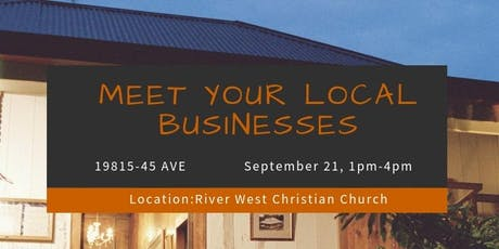 MEET YOUR LOCAL BUSINESSES tickets