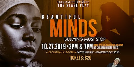 Beautiful Minds - Stage Play by Sue-Ham tickets