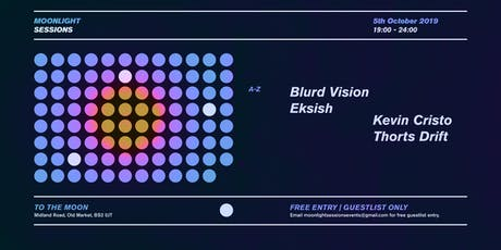 Moonlight sessions @ To The Moon W/ Eksish, Kevin Cristo and residents tickets