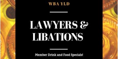 Lawyers & Libations, WBA YLD Bar Year Kickoff tickets