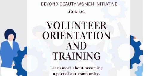 Volunteer Orientation And Training