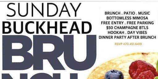 SUNDAY BRUNCH AT THE ALL NEW HIVE BUCKHEAD ( FORMER BUCKHEAD CAFE ONTERMEZZ
