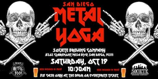 San Diego Metal Yoga 10/19