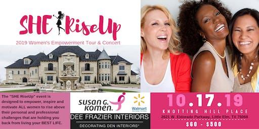 "SHE RiseUp ""2019""  Women's Empowerment Tour & Concert"