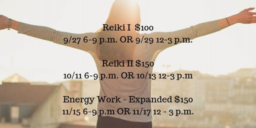 Reiki I Certification - Option 1