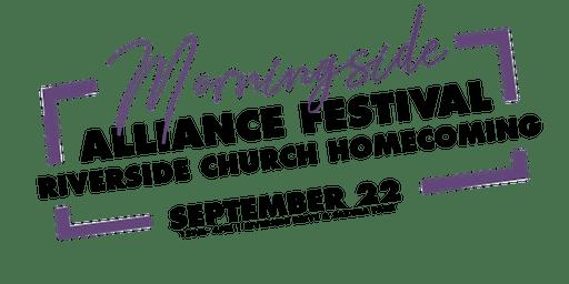 Morningside Alliance Festival & Riverside Church Homecoming