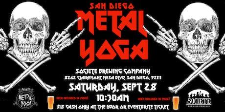 San Diego Metal Yoga 9/28 tickets