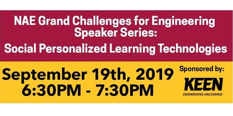 NAE Grand Challenges for Engineering Speaker Series: Social Personalized Learning Technologies tickets