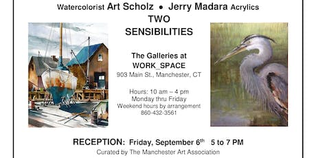 Two Sensibilities: Opening Reception tickets