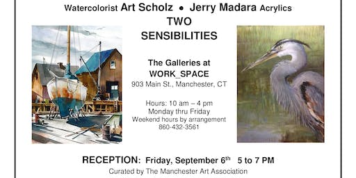 Two Sensibilities: Opening Reception