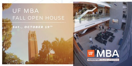 2019 UF MBA Fall Open House tickets