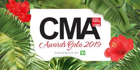 2019 CMA Awards Show & Gala tickets