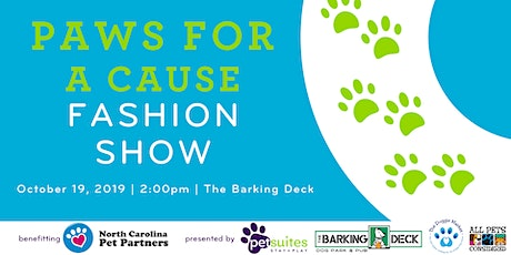 1st Annual Paws For A Cause- Dog Fashion Show tickets