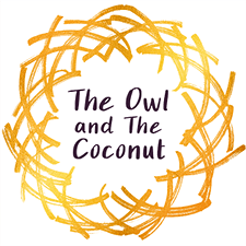 The Owl And The Coconut  logo
