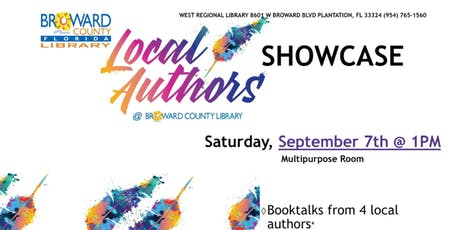 Local Authors Showcase @West Regional Library  tickets