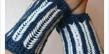 Learn to Knit Brioche Wristers