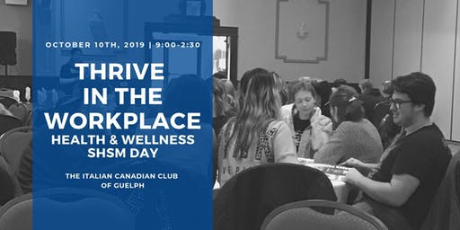 Thrive Health & Wellness SHSM Day