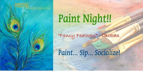 "Martinis & Masterpieces - ""Fancy Feathers"" tickets"