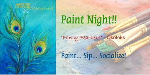 "Martinis & Masterpieces - ""Fancy Feathers"""