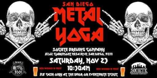 San Diego Metal Yoga 11/23