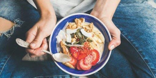 Workshop de Mindful Eating, Mindfulness na Alimentação.