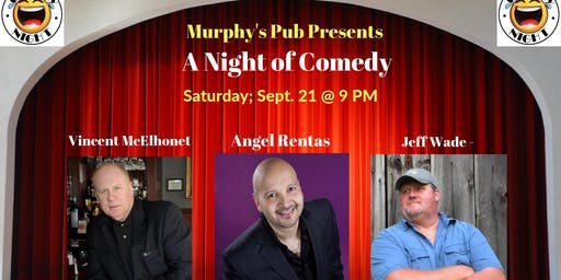 Special event - comedy night at Murphy's Pub