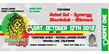 Tribal Vibes Reggae Fest tickets