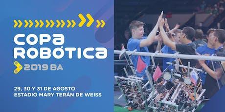 Copa Robótica 2019 entradas