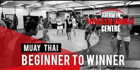 Aberdeen Combat Centre 12 Week Muay Thai Beginner To Winner Course tickets
