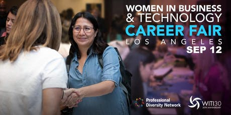Women in Business & Technology Career Fair - Los Angeles tickets