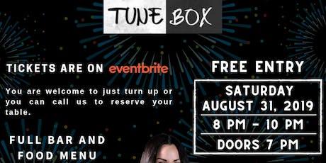 Tune Box tickets