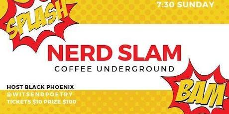 First Annual Nerd Slam! tickets