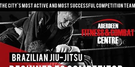 Aberdeen Combat Centre 12 Week BJJ Beginner To Winner Course tickets