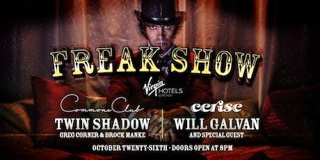 Freak Show Halloween At Virgin Hotels Chicago tickets