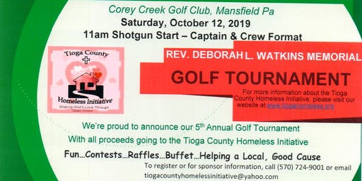 Golf Tournament- Rev Deborah L Watkins Memorial