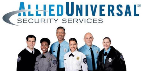 ALLIED SECURITY  SERVICES IS NOW HIRING! tickets