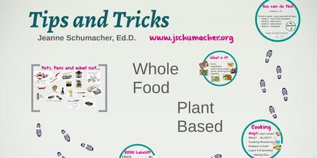 Tips, Tricks of a WFPB Lifestyle - Great Kitchen Hacks - Lecture tickets