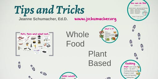 Tips, Tricks of a WFPB Lifestyle - Great Kitchen Hacks - Lecture
