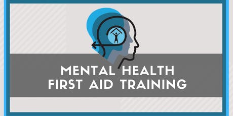 October Mental Health First Aid Training tickets