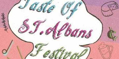 Taste of St.Albans Festival tickets