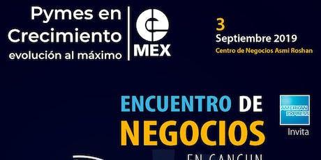"""Foro de negocios en Cancun """"Pymes en crecimiento """" tickets"""
