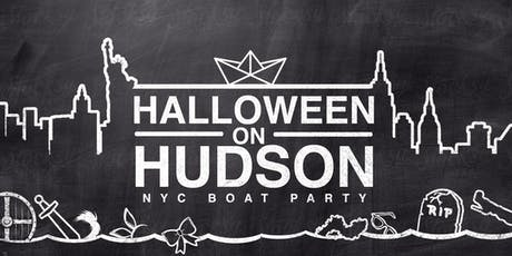 The NYC #1 Halloween Yacht Cruise around Manhattan Boat Party - Saturday Night tickets