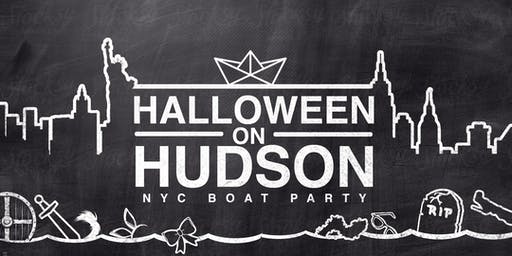 The NYC #1 Halloween Yacht Cruise around Manhattan Boat Party - Saturday Night